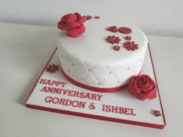 ruby wedding cakes ruby wedding anniversary cakes by siobhan cakes by siobhan