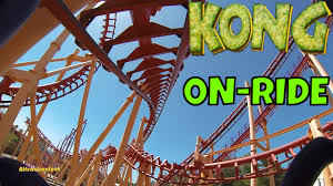 Six Flags Valejo Kong On Ride Front Seat Hd Pov Six Flags Discovery Kingdom Youtube