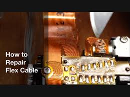 how to repair flex cable flexible pcb type flat copper ribbon