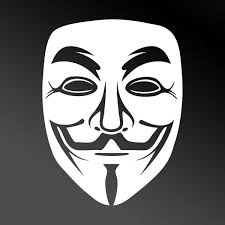 anonymous mask white fawkes anonymous mask car window sticker protest