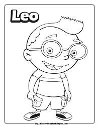 little einsteins coloring pages chuckbutt com