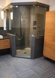 corner shower stall dimensions
