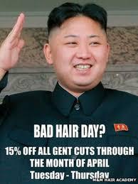 north korean officials visit salon over kim jong un u0027bad hair