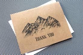 thank you cards bulk 100 thank you cards bulk thank you cards mountain wedding