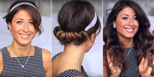 headband waves easy hairstyles for curly hair without heat hair