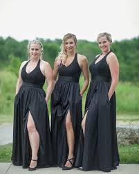 when your bridesmaid dress has pockets u0026 a killer slit you rock