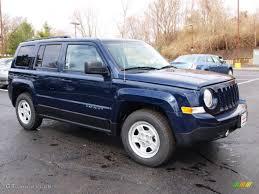 dark blue jeep true blue pearl 2012 jeep patriot sport exterior photo 62116754