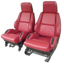 corvette seat covers c4 1988 corvette sport leather seat covers 692 99 vetteco inc