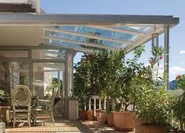 veranda vetro tettoia tettoia in vetro by finstral veranda posteriore