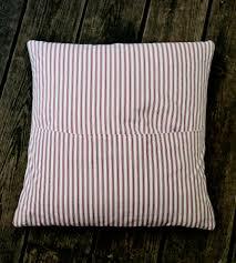 vintage feed sack throw pillow bemis home decor u0026 lighting