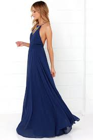 blue maxi dress lulus mythical of navy blue maxi dress fully lined 100