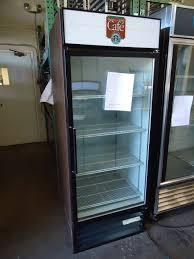 true 2 door glass cooler used northern restaurant equipment