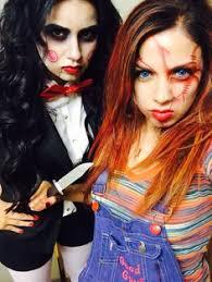 Halloween Costumes Chucky Diy Halloween Costumes Jigsaw U0026 Chucky Halloween
