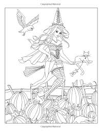 84 Best Witches Images On Pinterest Witches Halloween Witches by 272 Best Witch Coloring Images On Pinterest Coloring Books