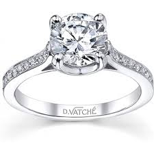 setting diamond rings images Vatche u prong setting diamond engagement ring h l gross png