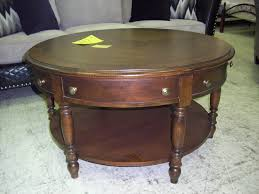 Table With Ottoman Underneath by Coffee Tables Simple The Best Round Coffee Tables With Drawers