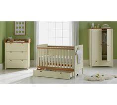 Pine Nursery Furniture Sets Stratford 4 Nursery Furniture Set Vanilla Pine Nursery