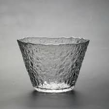 Handmade Tea Cups - japanese handmade heat resistant clear glass teacup tea cup bowl