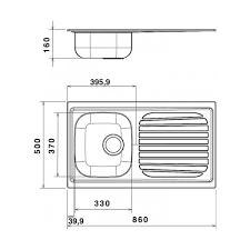 bac evier cuisine evier de cuisine en acier inox à encaster 1 bac et égouttoir à droite