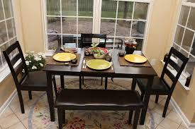 Corner Bench Dining Set With Storage Kitchen Dining Bench With Backrest Dining Bench With Storage