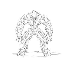 flood coloring pages halo reach coloring pages ideas master chief halo master chief
