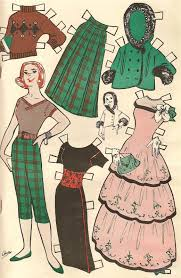 diy easy home decor vintage paper dolls u2013 diy easy project home decor in minutes