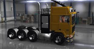volvo heavy volvo f10 8 4 heavy transporter ats euro truck simulator 2 mods