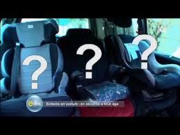 crash test siege auto boulgom e m6 sièges auto