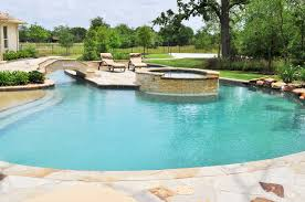 Backyard Pool With Lazy River College Station Pool Water Features Photo Gallery Brazos Valley