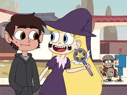 halloween cartoons background marco diaz and star butterfly at halloween day by deaf machbot on