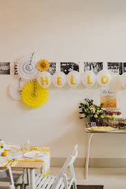 sunny yellow baby shower ideas wedding u0026 party ideas 100 layer