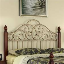 King Metal Headboard King Size Metal Headboards Cymax Stores