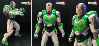 Patriotism Patriotism Everywhere Buzz And Woody Meme - this custom iron man figure is what a real life buzz lightyear