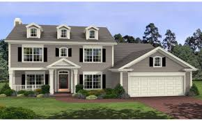 Colonial Garage Plans by Delectable 20 2 Story House Plans Design Decoration Of Best 25