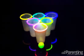 glow in the cups glow in the pong three ways