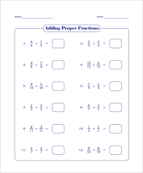 15 adding and subtracting fractions worksheets u2013 free pdf