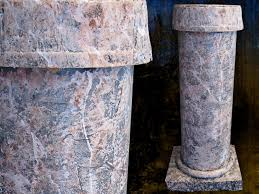 how to make faux stone columns for halloween or any occasion how