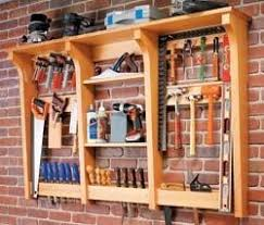 Wood Storage Rack Woodworking Plans by Woodshop Storage Ideas Results For Hand Tool Storage Rack