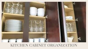Kitchen Cabinet Organizer Home Organization Tips Kitchen Cabinet Organization Youtube