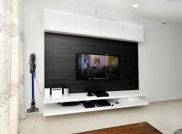 tv console cabinet white laminate wood livingroom design
