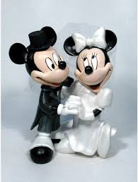 mickey and minnie cake topper and characters personalized wedding cake tops