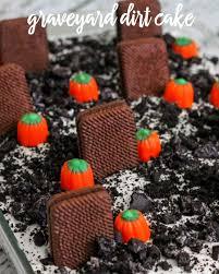 Halloween Graveyard Cake Ideas by Graveyard Dirt Cake