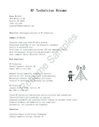pharmacy technician resume exles rf technician resume pharmacy technician resume cover letter laser