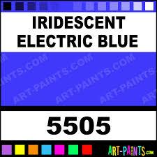 iridescent electric blue professional fabric textile paints 5505