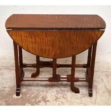 Schreibtisch Kolonial Stil Klapptisch Antik