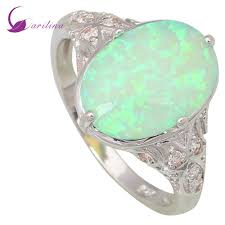 green opal fashion opal rings fine jewelry women u0027s rings green fire opal