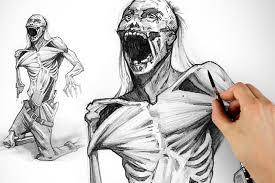 drawing the walking dead zombie halloween special proko