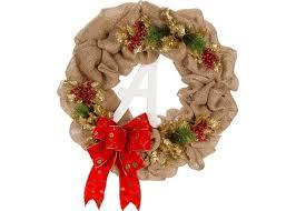 burlap christmas wreath burlap pull through wreath craft ideas