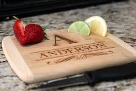 personalized cutting board personalized cutting board 6x8 edge bamboo board qualtry