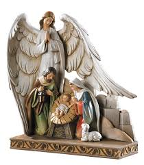 Home Interiors Nativity by Amazon Com Cb Gift Tc616 Nativity Angel Figurine 8